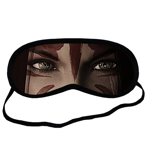 EYM1177 Animae Cosplay Eye Printed Sleeping Mask