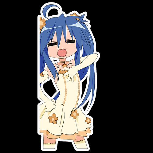 Anime Peeking Sticker Car Window Decal PK268 Lucky Star konata izumi
