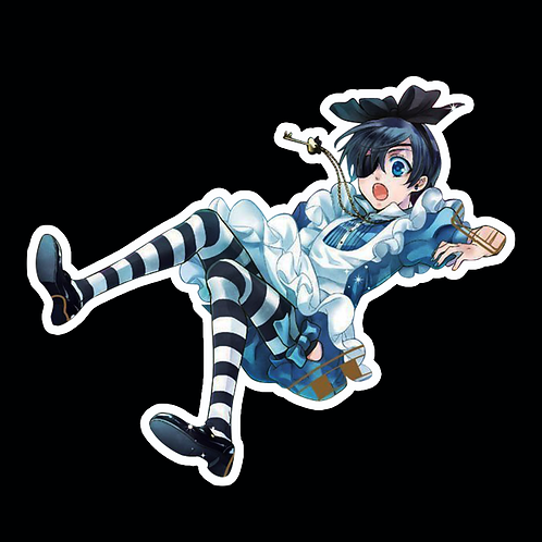 Anime Stickers Die-cut Car motorcycle laptops phone Truck wall BB44 Black Butler