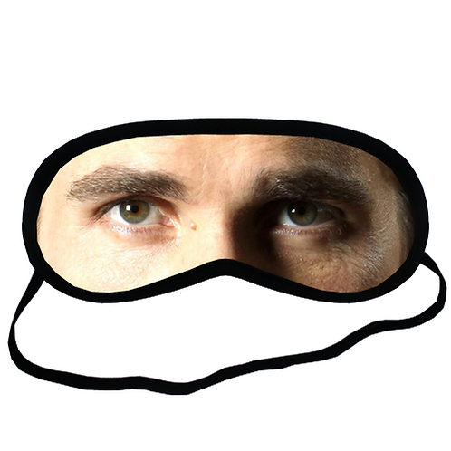 EYM987 Christian Bale Eye Printed Sleeping Mask