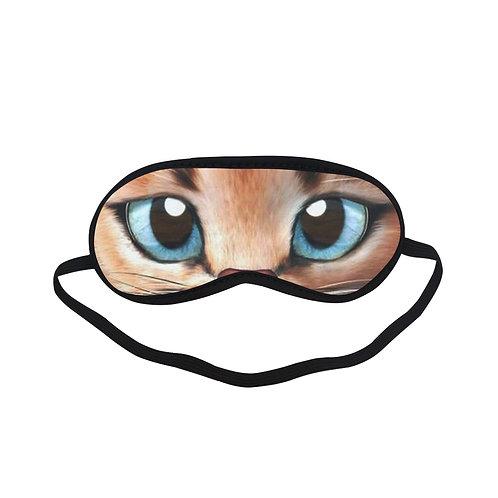 ATEM008 cat cute Eye Printed Sleeping Mask