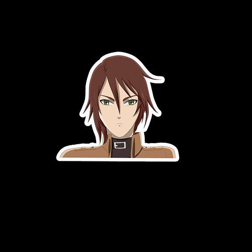Anime Peeking Sticker Car Window TRUCK Decal PKAT24 Attack on Titan