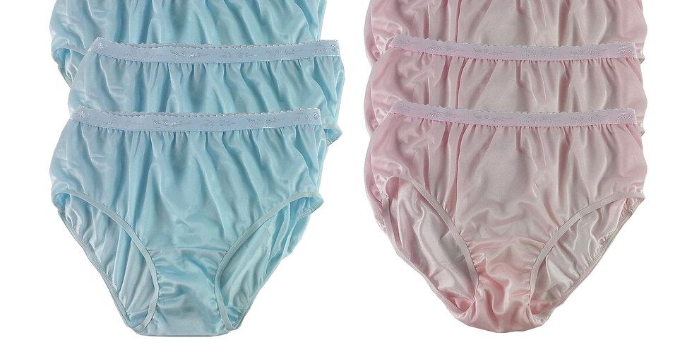 CKSL15 Lots 6 pcs Wholesale New Nylon Panties Women Undies Briefs