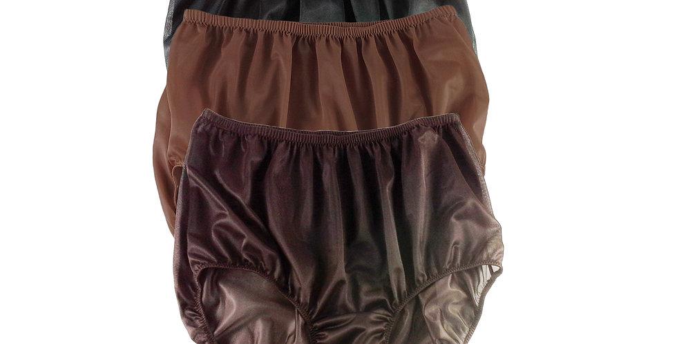 A21 Lots 3 pcs Wholesale Women New Panties Granny Briefs Nylon Knickers