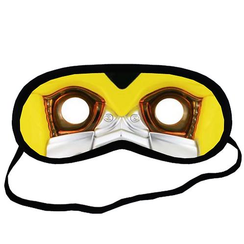 EYM555 Bumblebee Transformer Face Eye Printed Sleeping Mask