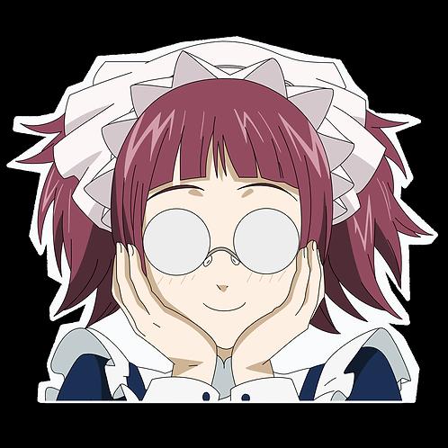 Anime Peeking Sticker Car Window Decal PK265 kuroshitsuji Mey-Rin