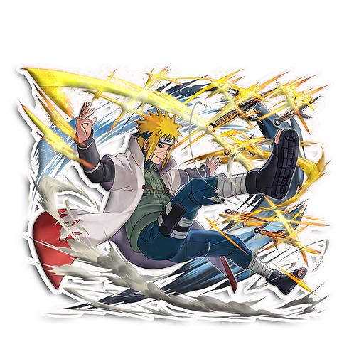 NRT267 Minato Namikaze Yondaime Hokage Naruto anime s