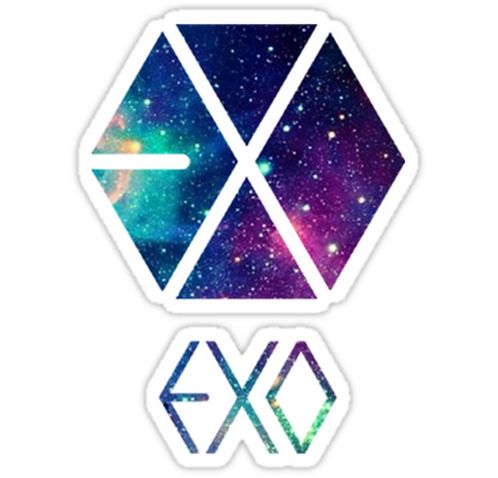 EXO Galaxy SSTK021 K-Pop Music Brand Car Window Decal Sticker