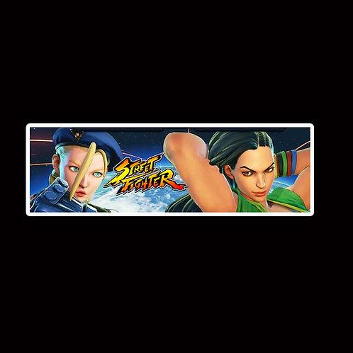 Slap Stickers Anime Stickers Decals Helmet laptops SLSF27 Street Fighter Game