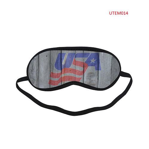 UTEM014 USA Eye Printed Sleeping Mask