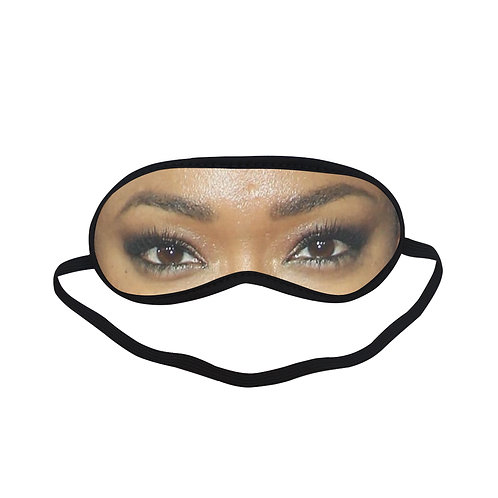 EOL325 Sonequa Martin Green Eye Printed Sleeping Mask