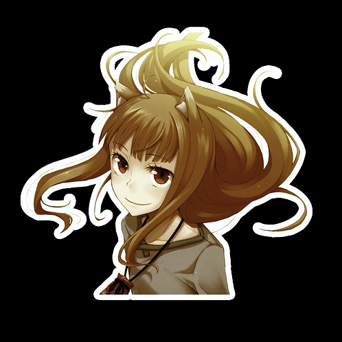 Peeker Anime Peeking Sticker Car Truck Window Laptop Decal SW29 Spice and Wolf