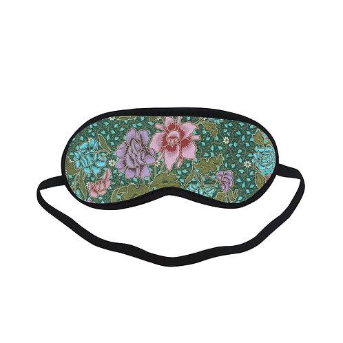 PTEM392B Mayan and Flower pattern Eye Printed Sleeping Mas
