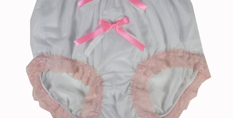 NNH10D27 Handmade Panties Lace Women Men Briefs Nylon Knickers