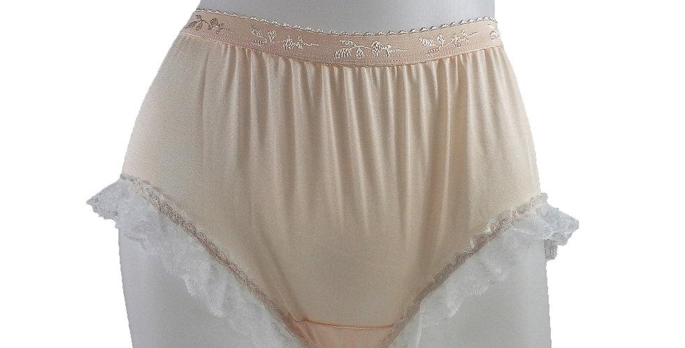 CKH02D01 Orange New Nylon Panties Women Handmade Lace Briefs