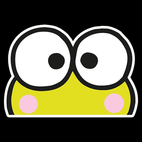 Peeker Anime Peeking Sticker Car Window Decal PK433 Keroppi Frog