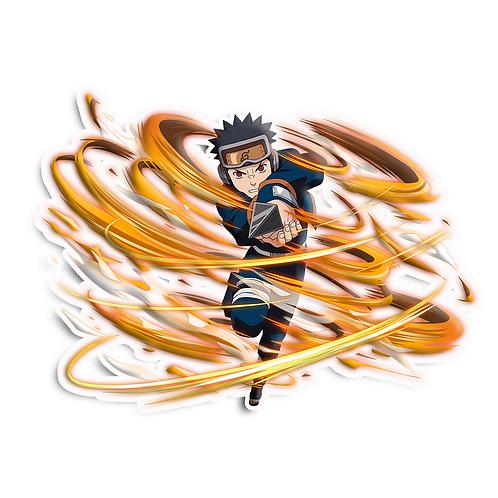 NRT469 Uchiha Obito Sharingan Akatsuki Naruto anime s