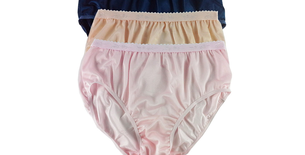 CKTK04 Lots 3 pcs Wholesale New Nylon Panties Women Undies Briefs