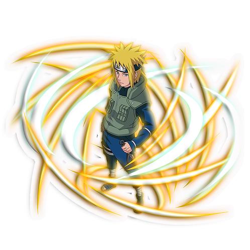 NRT277 Minato Namikaze Yondaime Hokage Naruto anime s