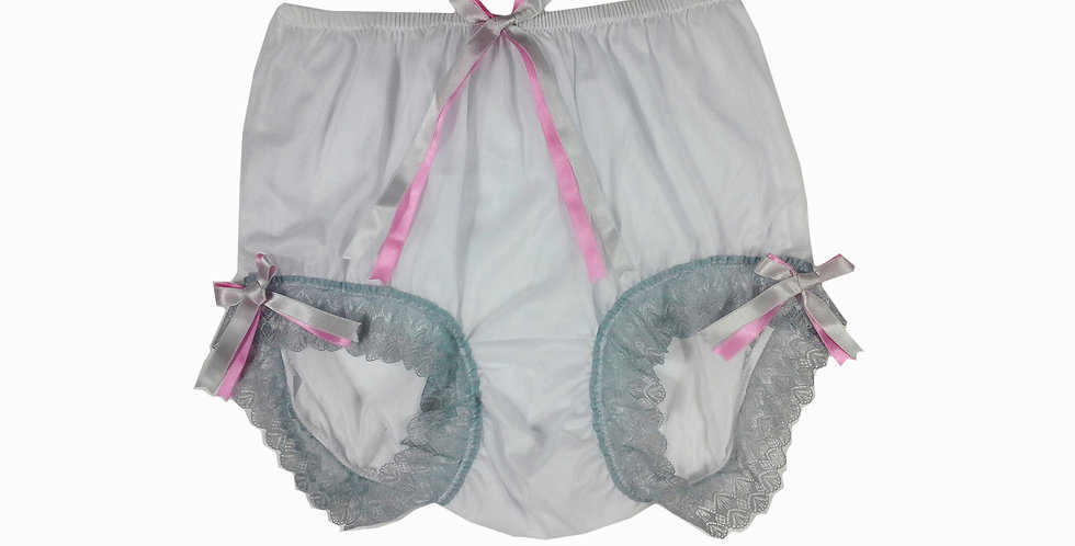 NNH11D127 Handmade Panties Lace Women Men Briefs Nylon Knickers