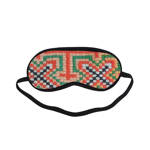 PTEM414B Local traditional Graphic Eye Printed Sleeping Mas