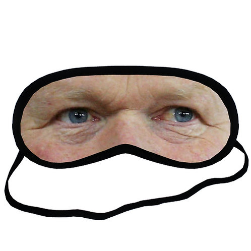 EYM1599 Ronald Koeman Eye Printed Sleeping Mask