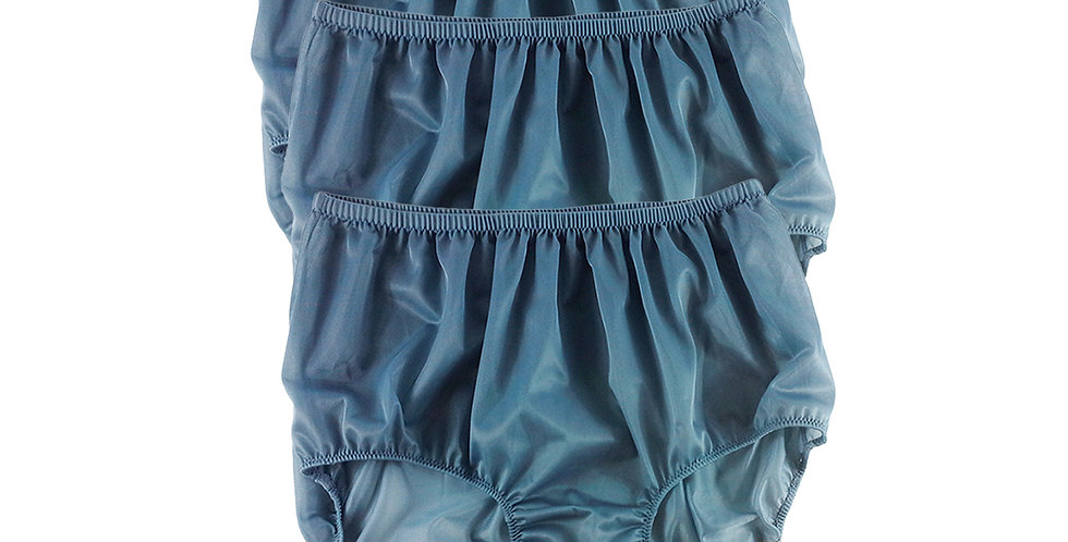 B11 Gray Lots 3 pcs Wholesale Women New Panties Granny Briefs Nylon