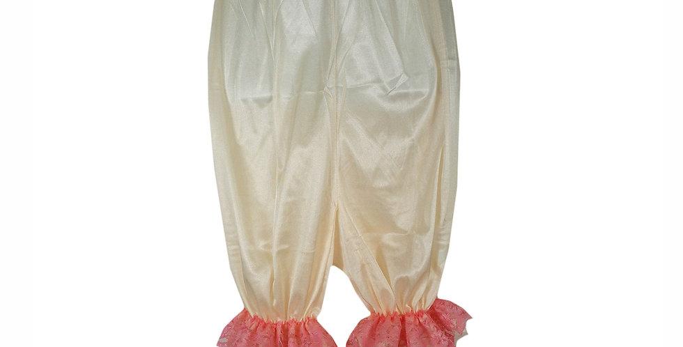 PTPH04D17 fair Orange New Nylon Pettipants Women Men Slips Lace Lingerie