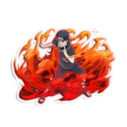 NRT512 Uchiha Shisui Sharingan Body Flicker Naruto anime sticker Car Decal