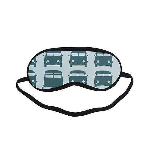 PTEM491 Bus Car Traffic Art Eye Printed Sleeping Mas