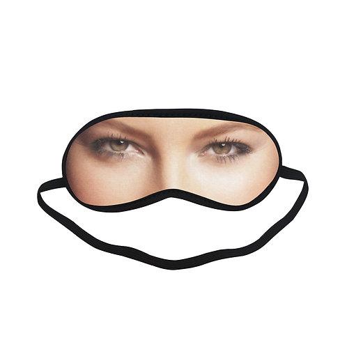 JTEM244 Jessica Biel Eye Printed Sleeping Mask