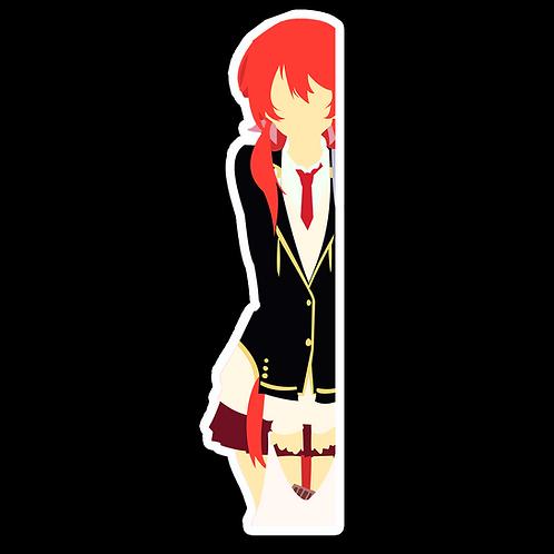 Peek Anime Peeking Sticker Car Decal AKS2 Akane Sakurada Castle Town Dandelion