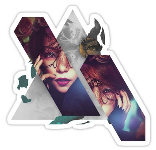 Namie Amuro Genic Design SSTK010 K-Pop Music Brand Car Window Decal Sticker