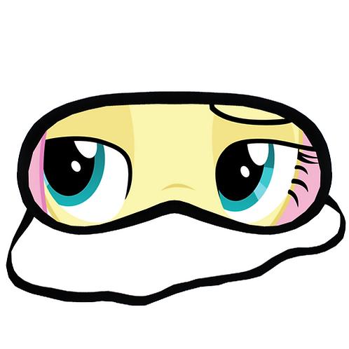 EYM075 My Little Pony Fluttershy Eye Printed Sleeping Mask
