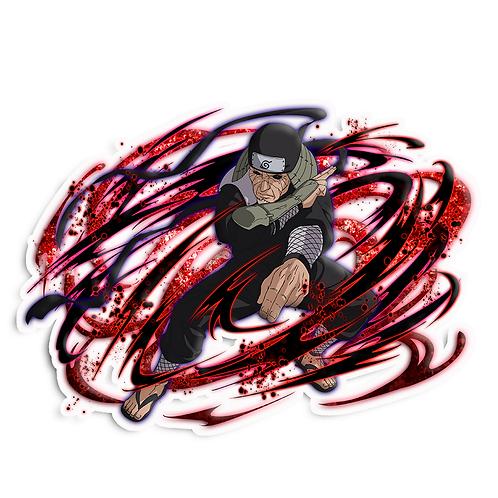 NRT140 Hiruzen Sarutobi Third Konohagakure Naruto anime sti