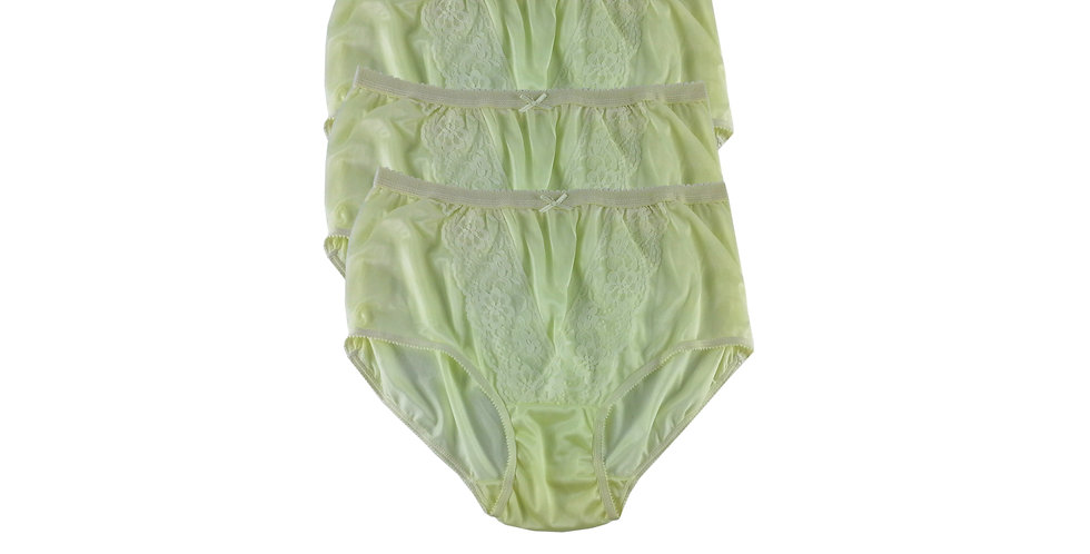 NLT YELLOW Lots 3 pcs Wholesale Panties Granny Lace Briefs Nylon Men Woman