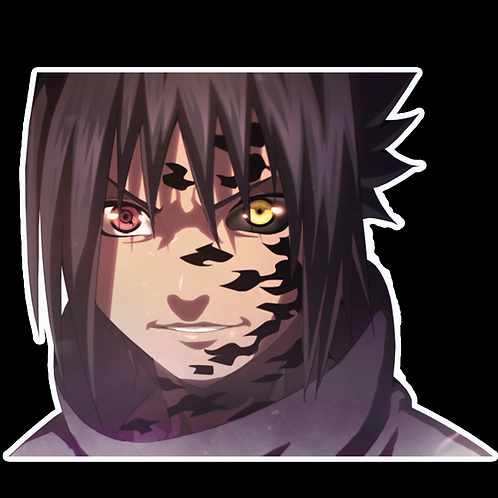 Peeker Anime Peeking Sticker Car Window Decal PK287 Sasuke
