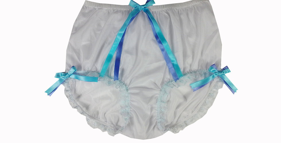 NNH11D91 Handmade Panties Lace Women Men Briefs Nylon Knickers