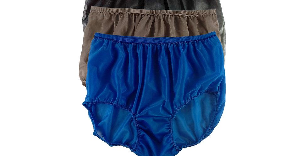 A119 Lots 3 pcs Wholesale Women New Panties Granny Briefs Nylon Knickers