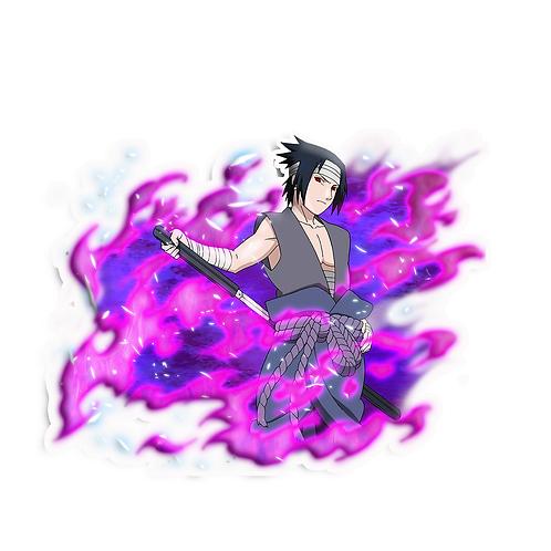 NRT503 Uchiha Sasuke Rinnegan Sharingan Naruto anime s