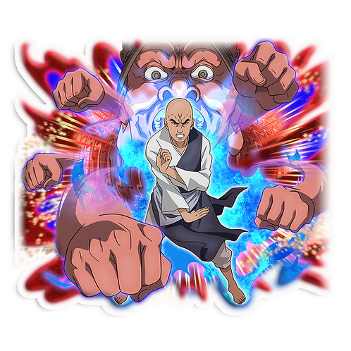 NRT18 Chiriku Ninja Monk Naruto anime stick