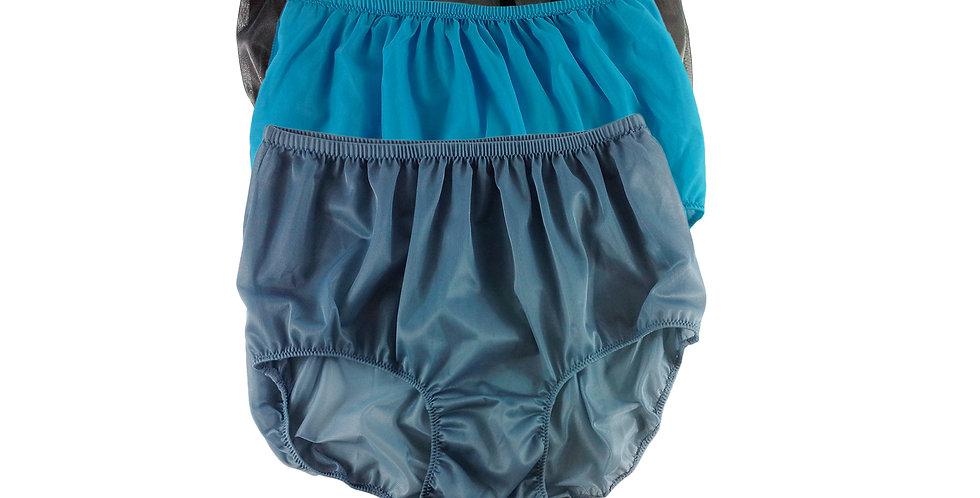 A55 Lots 3 pcs Wholesale Women New Panties Granny Briefs Nylon Knickers