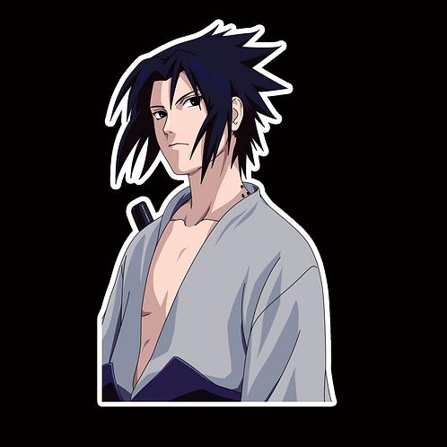 NOR419 Sasuke uchiha Naruto Peeking anime sticker Car Decal Vinyl Window