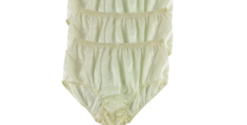 NYT YELLOW Lots 3 pcs New Panties Wholesale Briefs Silky Nylon Men Women