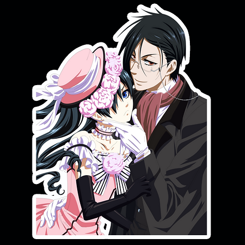 Anime Stickers Die-cut Car motorcycle laptops phone Truck wall BB13 Black Butler