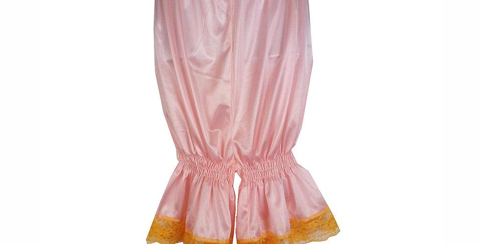 PTPH03P03 orange New Nylon Pettipants Women Men Slips Lace Lingerie