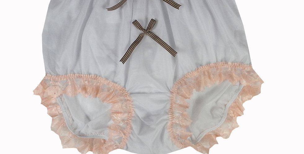 NNH10D45 Handmade Panties Lace Women Men Briefs Nylon Knickers