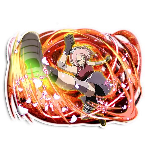 NRT339 Sakura Haruno Medical-nin Naruto anime s
