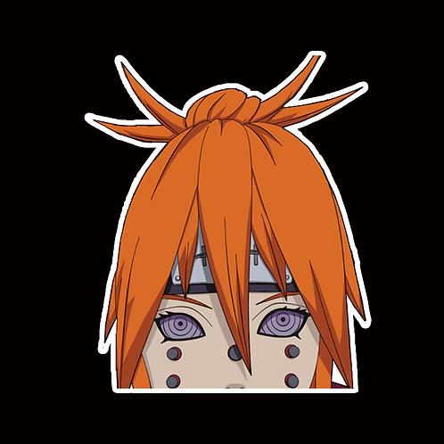 NOR194 Pain Naruto Peeking anime sticker Car Decal Vinyl Window