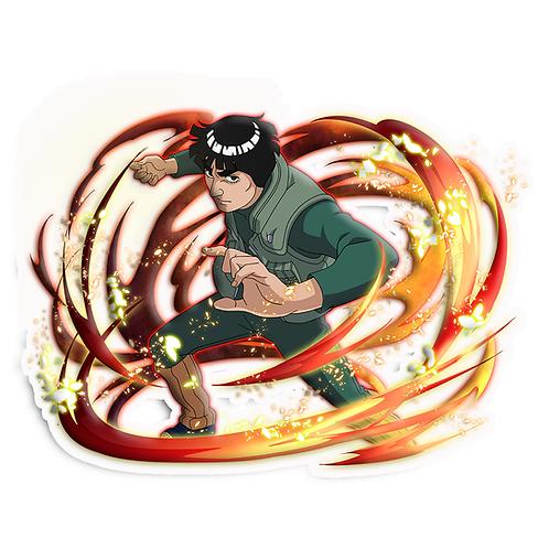 NRT253 Might Guy master of martial arts Naruto anime s